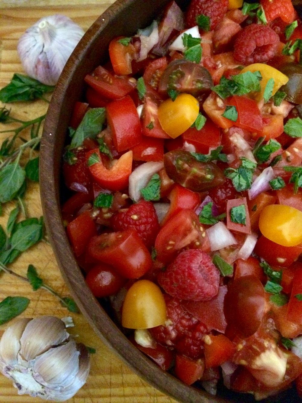 raspberry salad3